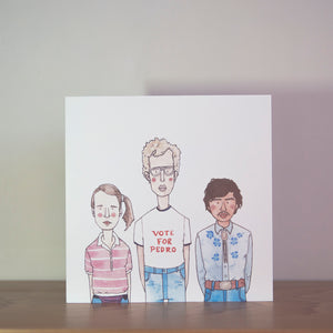Load image into Gallery viewer, Napoleon Dynamite greeting card