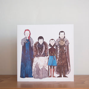 Load image into Gallery viewer, Game of Thrones greeting card