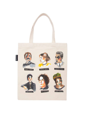 Punk Rock Authors Tote