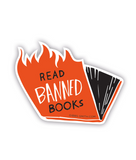 Read Banned Books Sticker (3 Types)