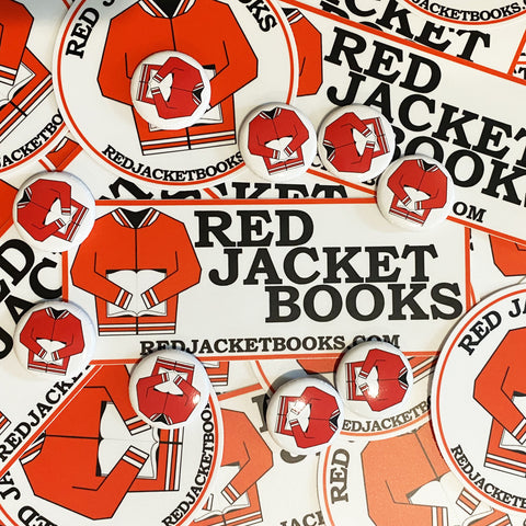 Red Jacket Books Sticker Pack
