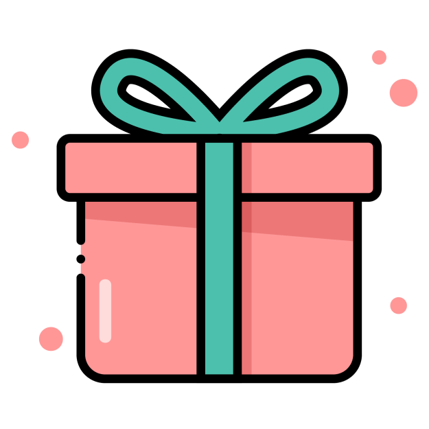 Icon of a gift wrapped box