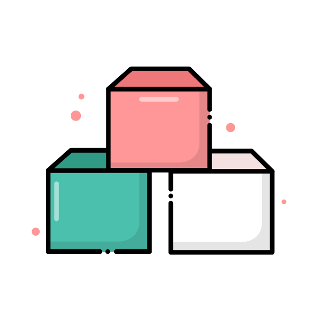 Icon of 3 boxes