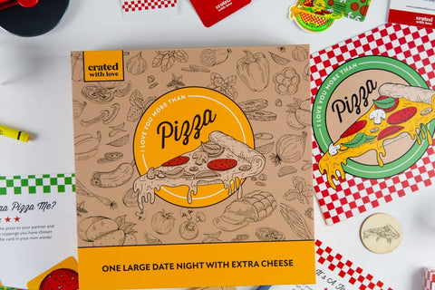 crated with love pizza date night box