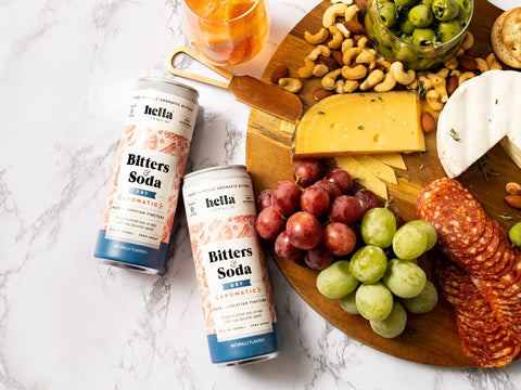 hella cocktail bitters and soda