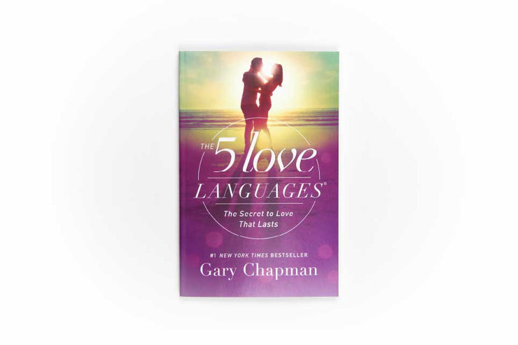 5 love languages - the secret to love that lasts - front cover book