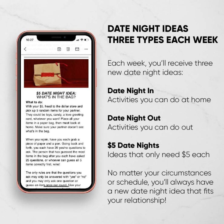 Date Night Digital Subscription- 6 Months