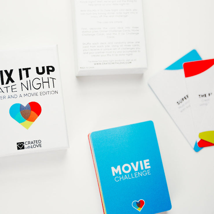 Mix It Up Stocking Stuffer - Dinner and a Movie Edition