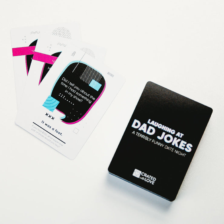 Laughing at Dad Jokes Card Game