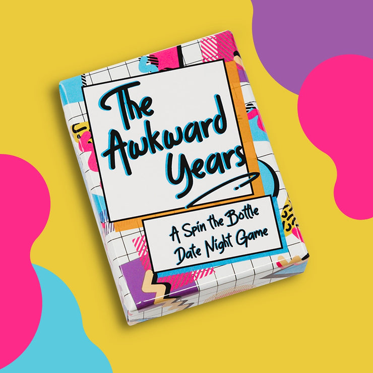 The Awkward Years - Spin the Bottle Card Game