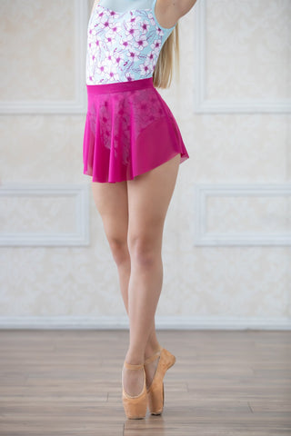 Chic Dancewear - The Alyvia Skirt- Fuchsia