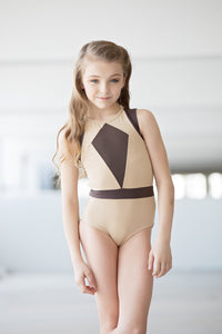 Oh La La- The Victory Leotard- Mocha