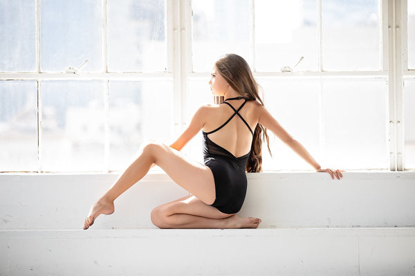 Oh La La- The Allure Leotard- Black