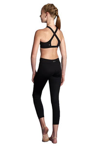Bloch Girls High Neck Cross Back Crop Top