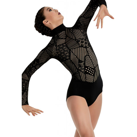 Balera Patchwork Lace Leotard
