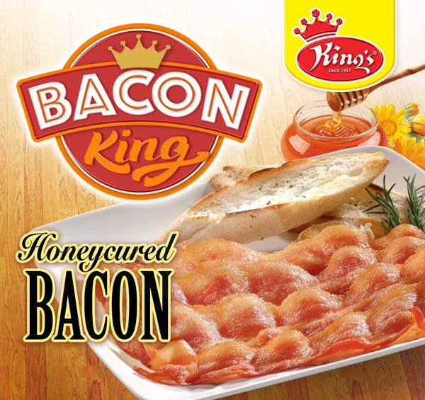 Kings Honeycured Bacon 200g