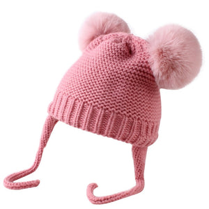 5 Colors Baby Hats 1-3 Years Boys Girls Hats Kids Winter Hats Bonnet Enfant Hat For Children Baby Hat