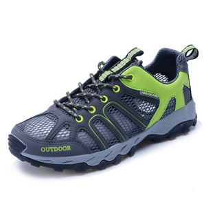 climbing Outdoor Sneakers For Men Women Breathable Hiking Shoes Non Slip Trekking Climbing Sport Shoes Quick Dry Upstream Water Shoes