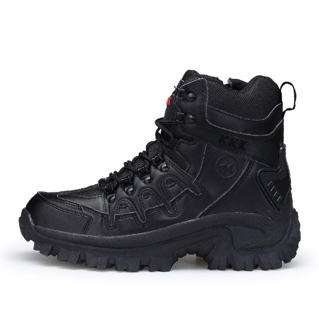 Men Tactical climbing Boots Army Boots Mens Military Desert Waterproof Work Safety Shoes Climbing Hiking Shoes Ankle Men Outdoor Boots
