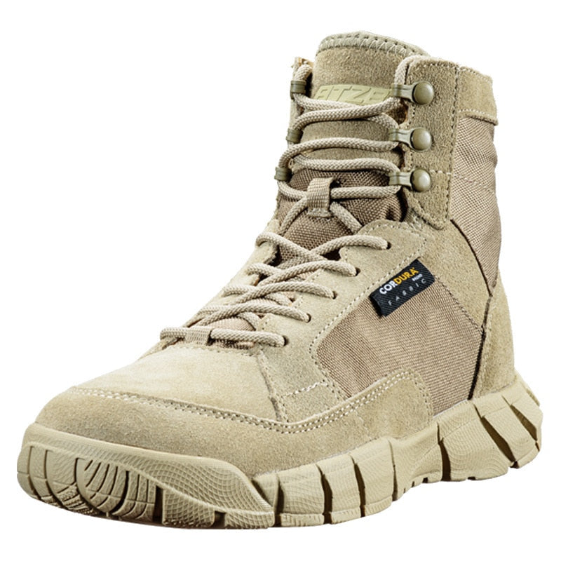 Outdoor Combat Military Tactical Training Desert CLIMBING Boots Men Women Spring Autumn Climbing Camp Ultralight Breathable Hiking Shoes