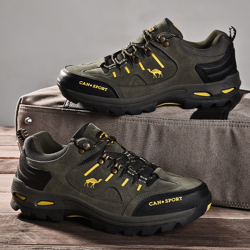 climbing High Quality Men Hiking Shoes Autumn Winter Brand Outdoor Mens Sport Trekking Mountain Boots Waterproof Climbing Athletic Shoes