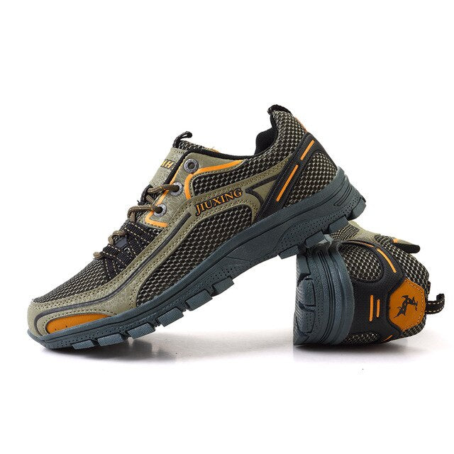 Men CLIMBING Shoes Sneakers Sports Shoes for Men Rubber Soles Outdoor Walking Shoes Male Breathable Climbing Shoes Zapatos Hombre