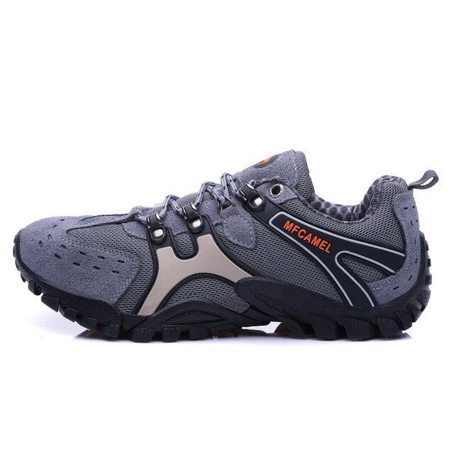 Original Men Male Camping Training Outdoor Sport Trail Hiking climbing Shoes Waterproof Mountaineer Walking Climbing Trip Sneakers