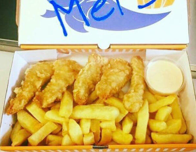 Chicken Tenders & Chips