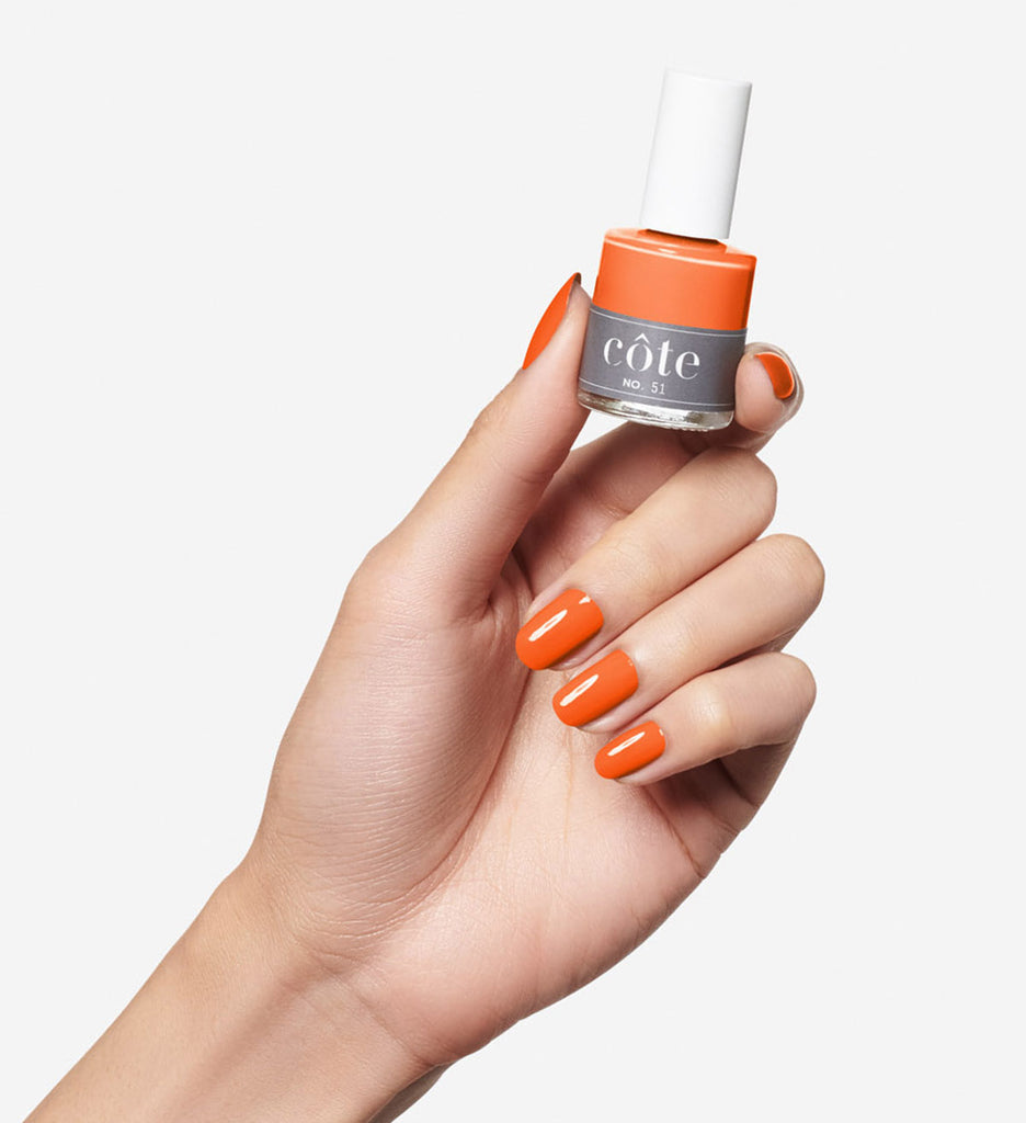 No.51 Burnt Orange Cream Nail Polish