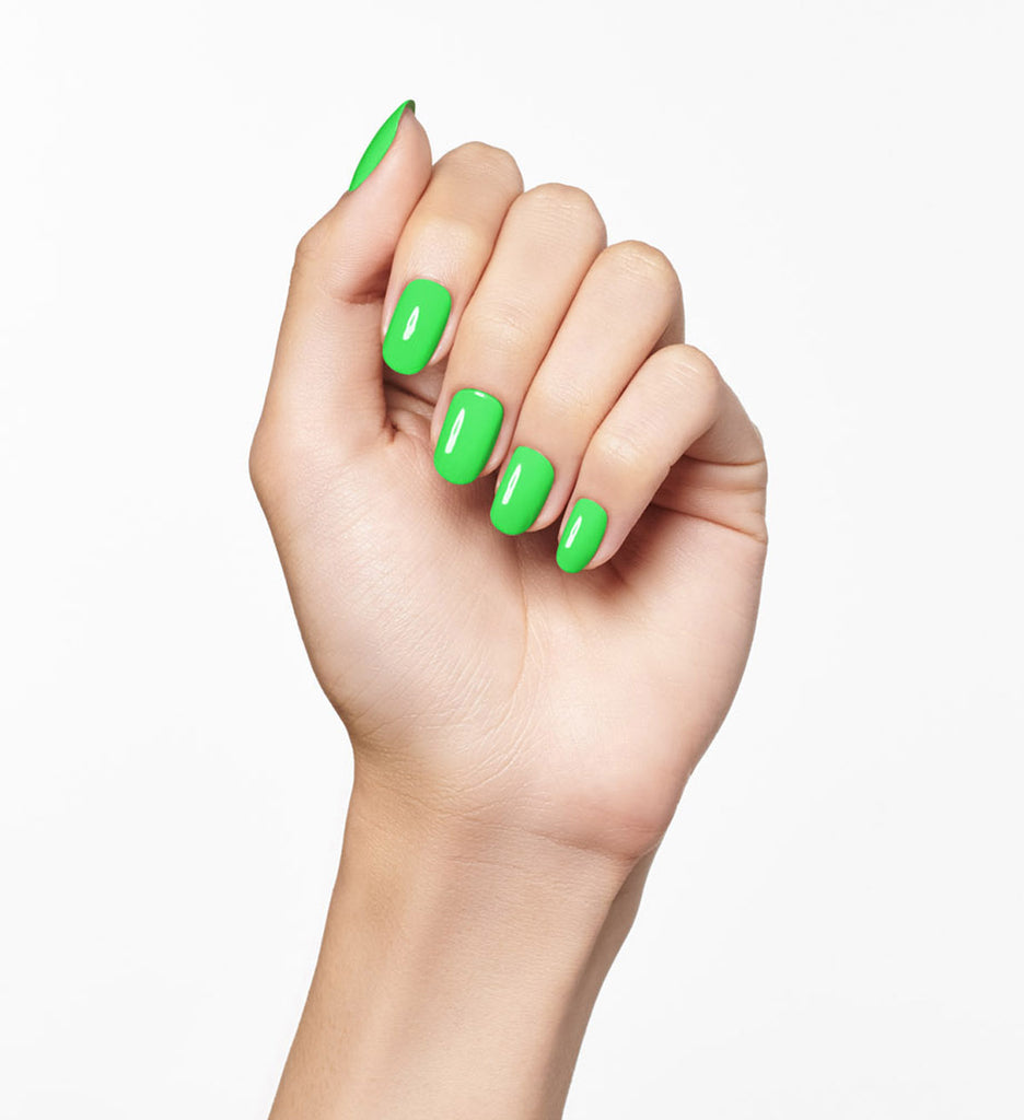 No. 115 Neon Green Nail Polish - Vegan Nail Polish - Neon Nails
