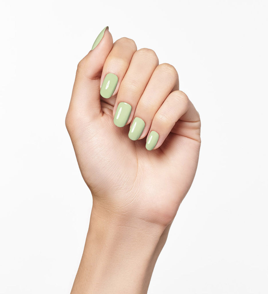 No. 60 Sea Foam Green Nail Polish - Non Toxic Nail Polish - hand