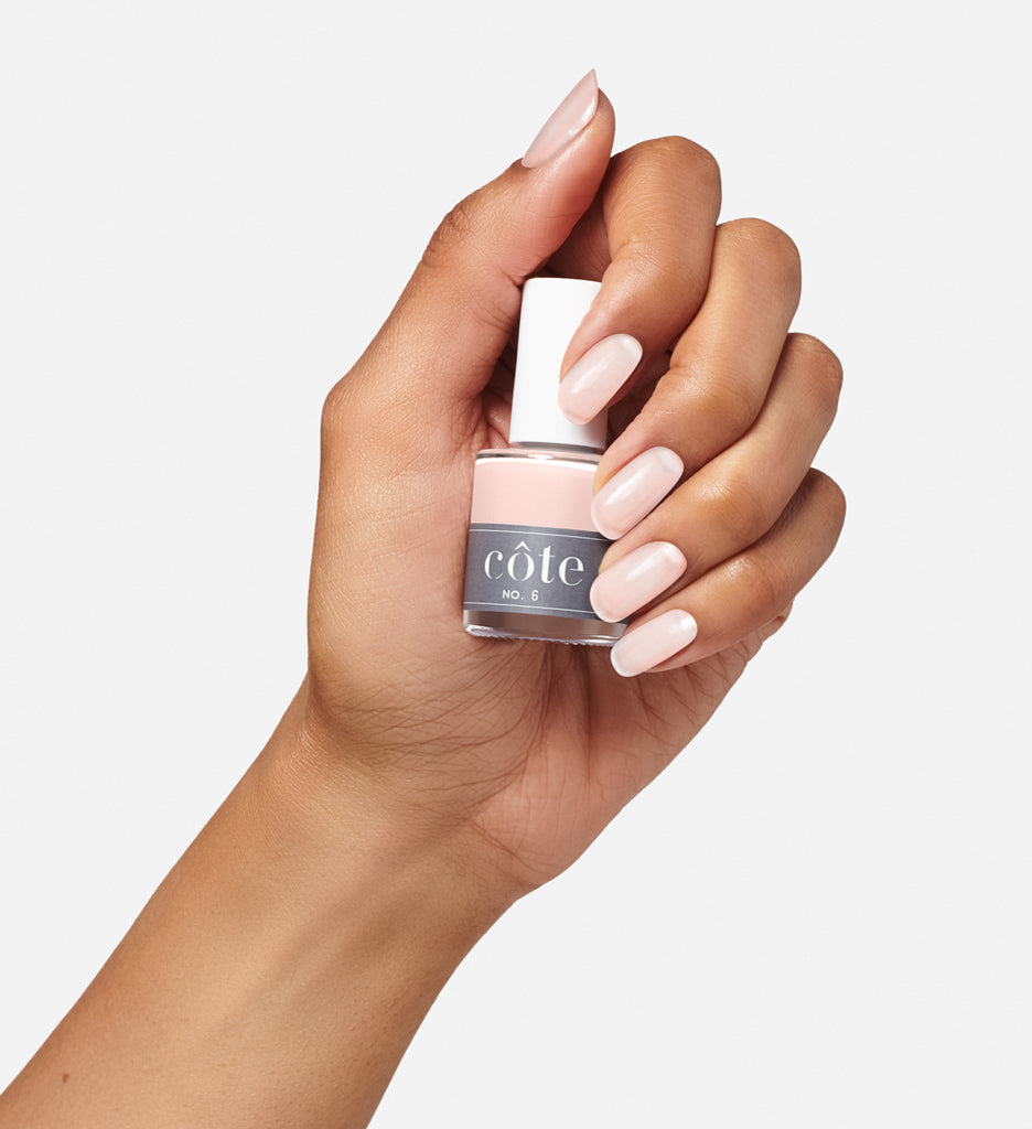 No. 6 Blush Toned Neutral NonToxic Nail Polish