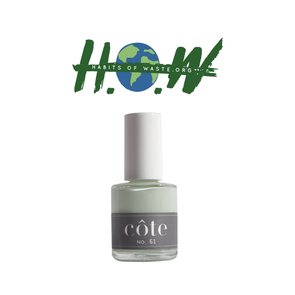 No. 61 Light Cool Creamy Mint Nail Polish - Non Toxic Nail Polish - H.O.W.