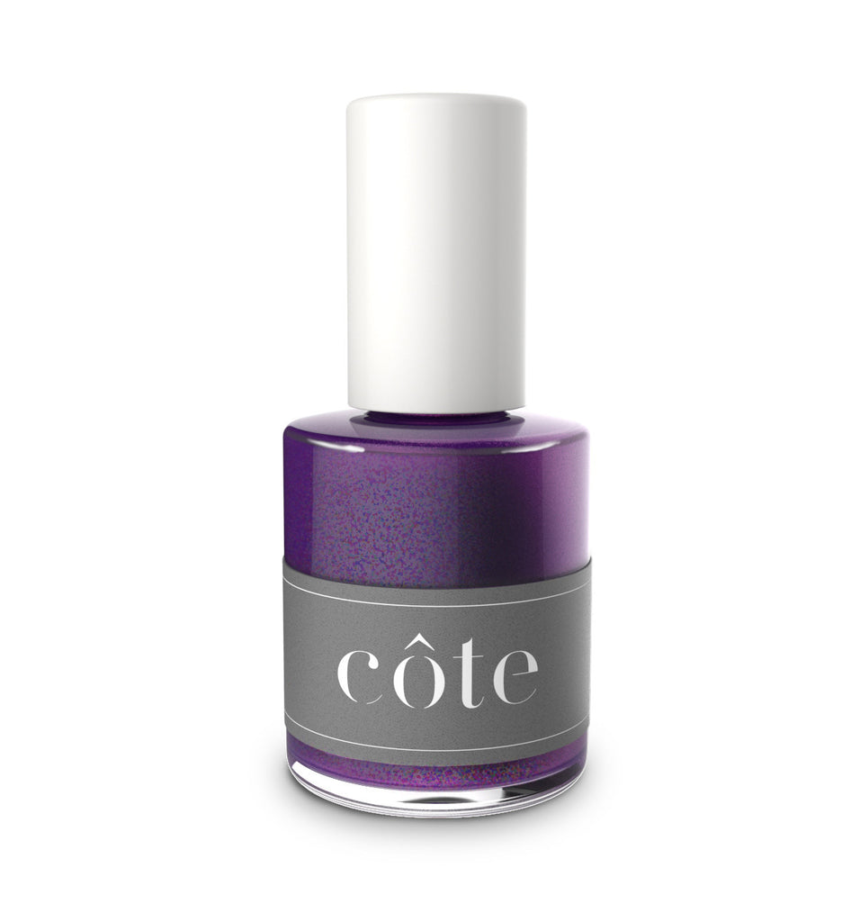 Côte - No.106 Blue and Purple Mix Shimmery Nail Polish