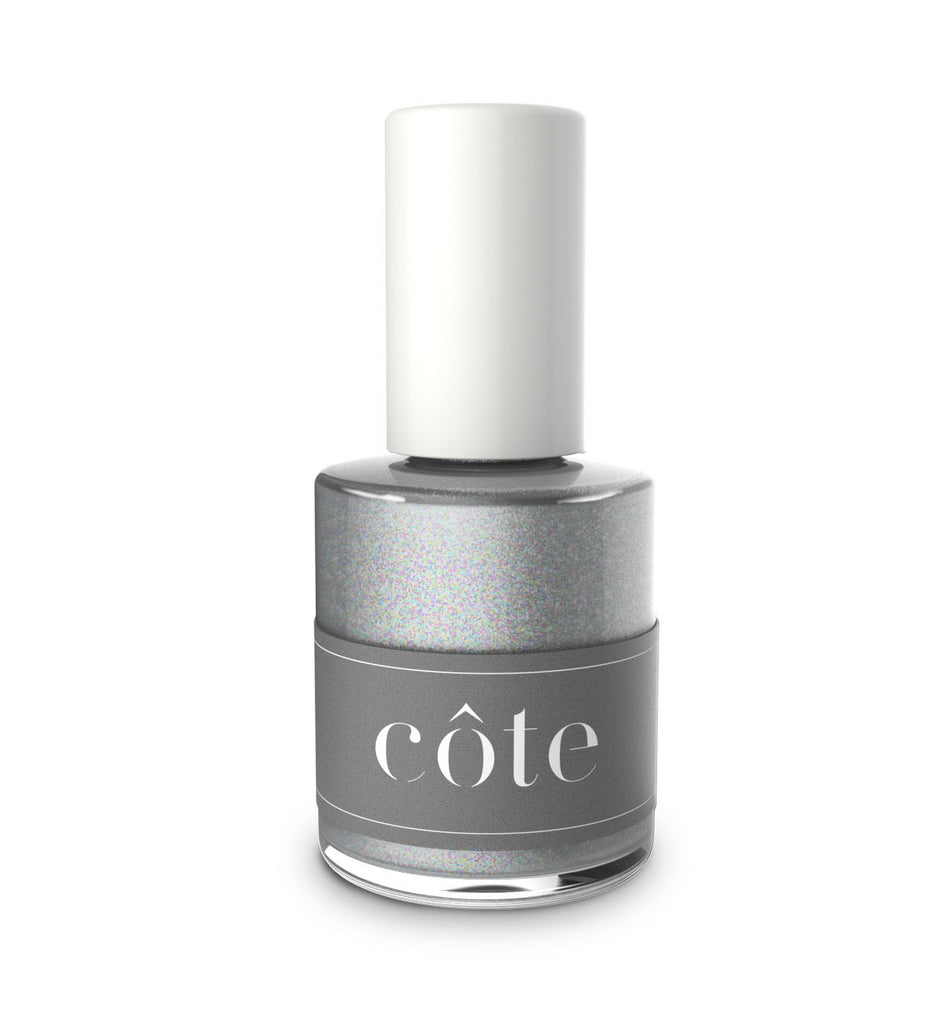 No.108 True Silver Glitter nail polish