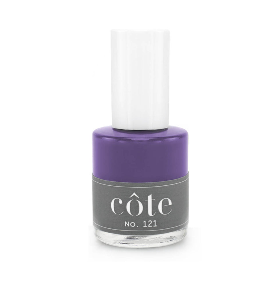 No.121 deep purple nail polish