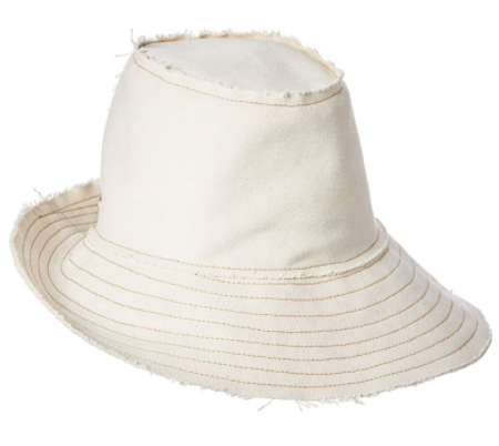 Dune Asymmetrical Canvas Fedora