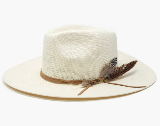 Valencia Straw Hat - Cream