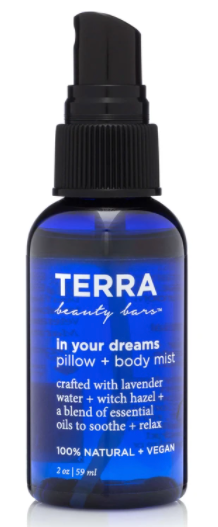 Terra Beauty Bars Pillow + Body Spray - In Your Dreams