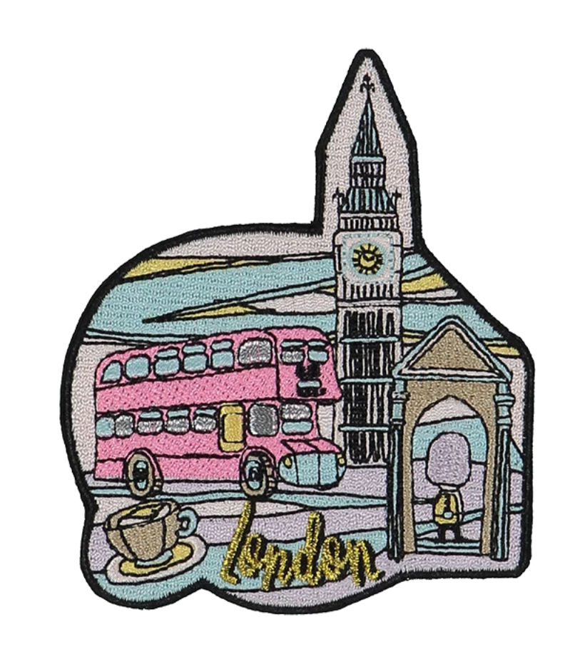 London Sticker Patch