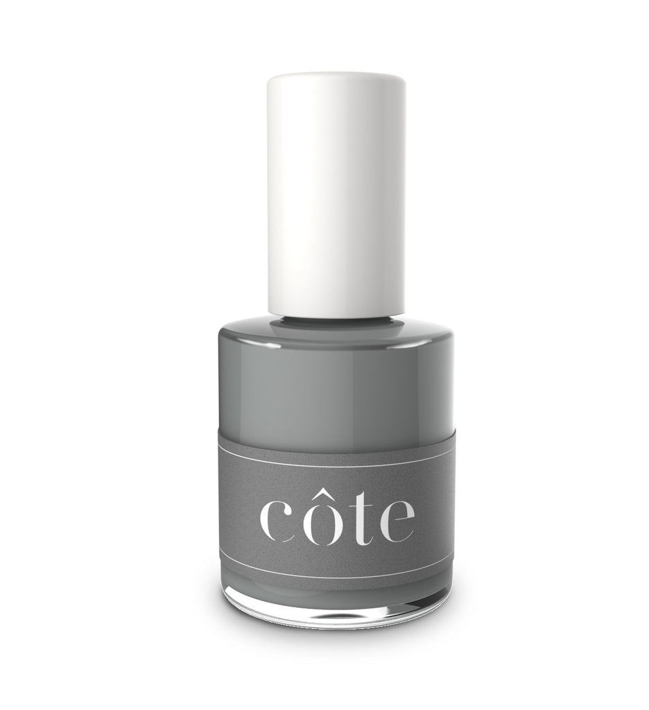 No. 100 new york stone grey cote nail polish