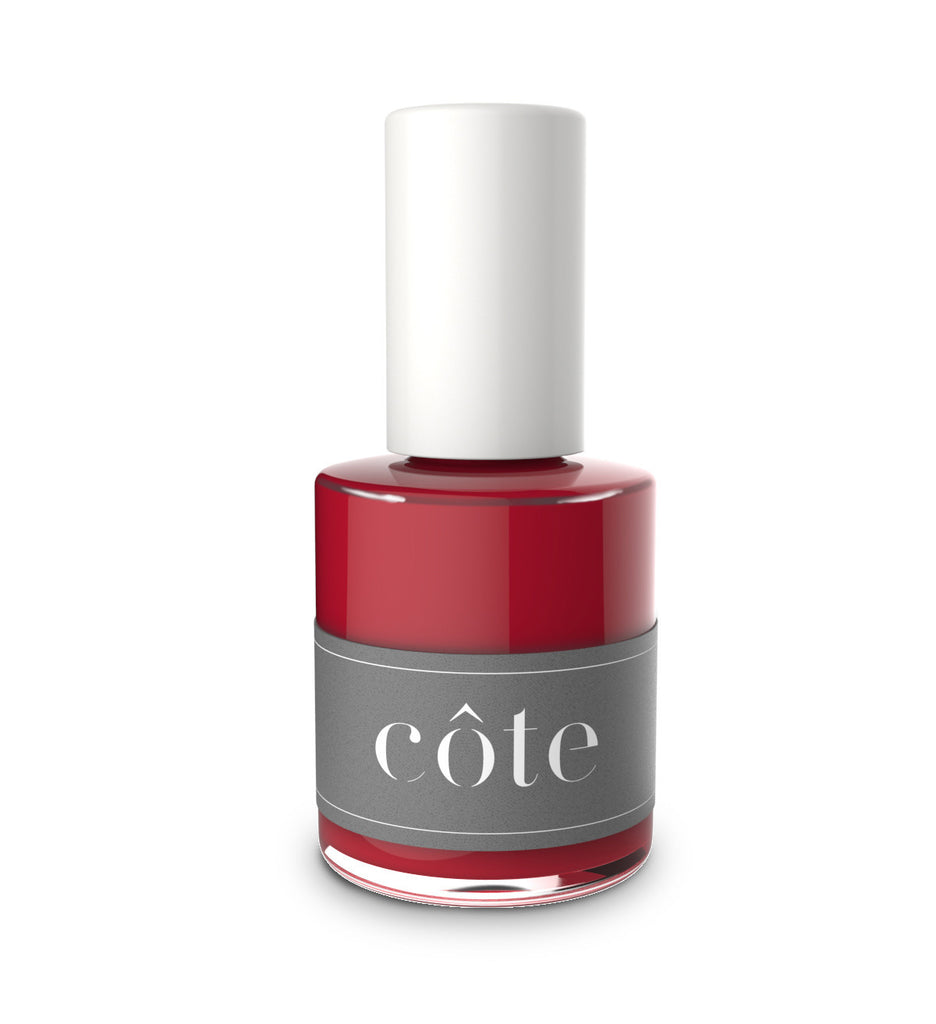 Côte - No. 28 Deep Burgundy Cream Nail Polish