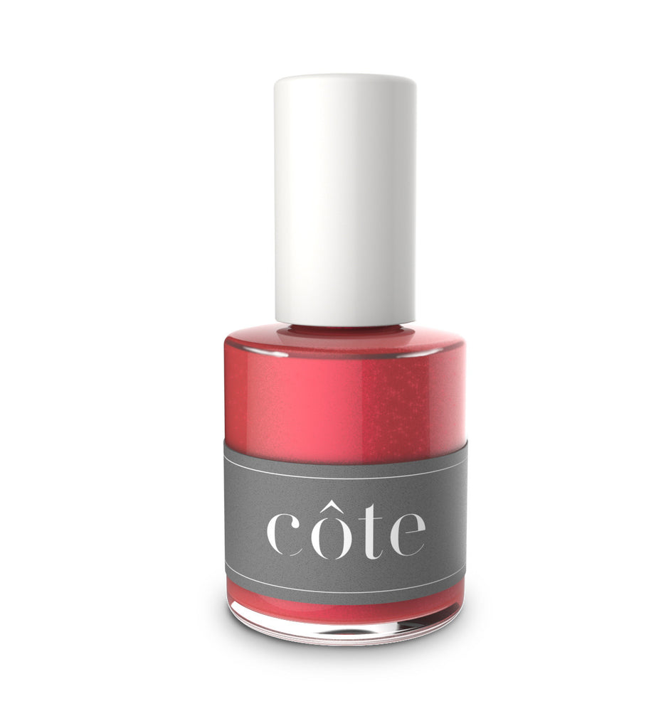 No. 30 Shimmery Red Nail Polish - Non Toxic Nail Polish