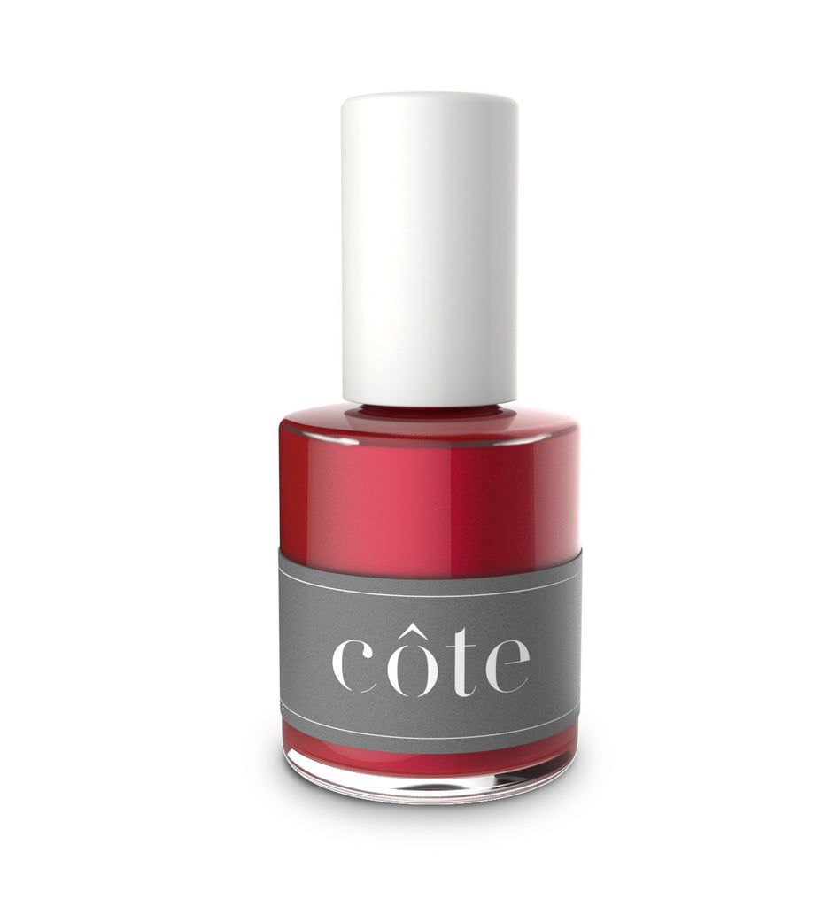 Côte - No. 33 Ruby Red Shimmer Nail Polish