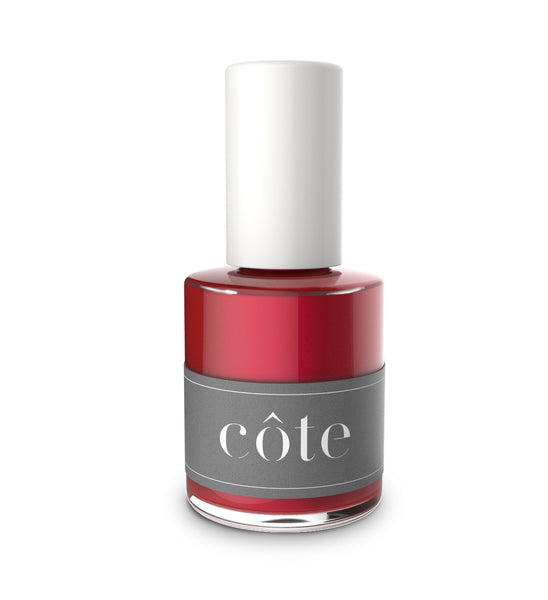 No. 33 red shimmer nail polish