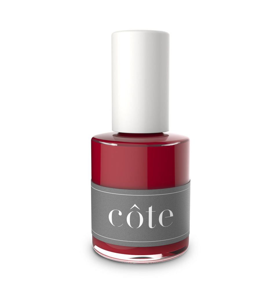 No. 34 red cream nail polish