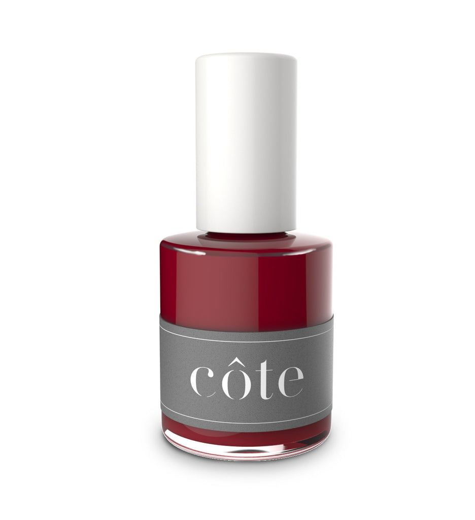 No. 35 Imperial red cream nail polish