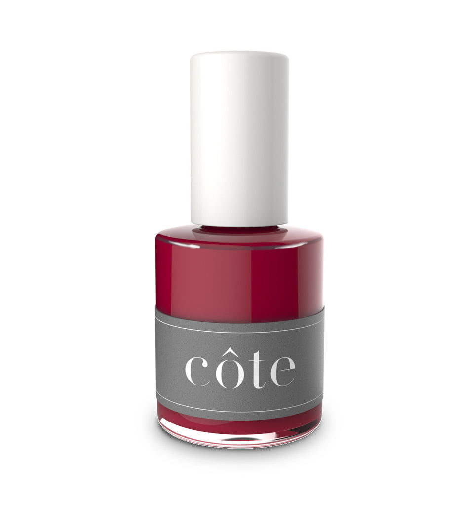 No. 37 garnet red cream nail polish