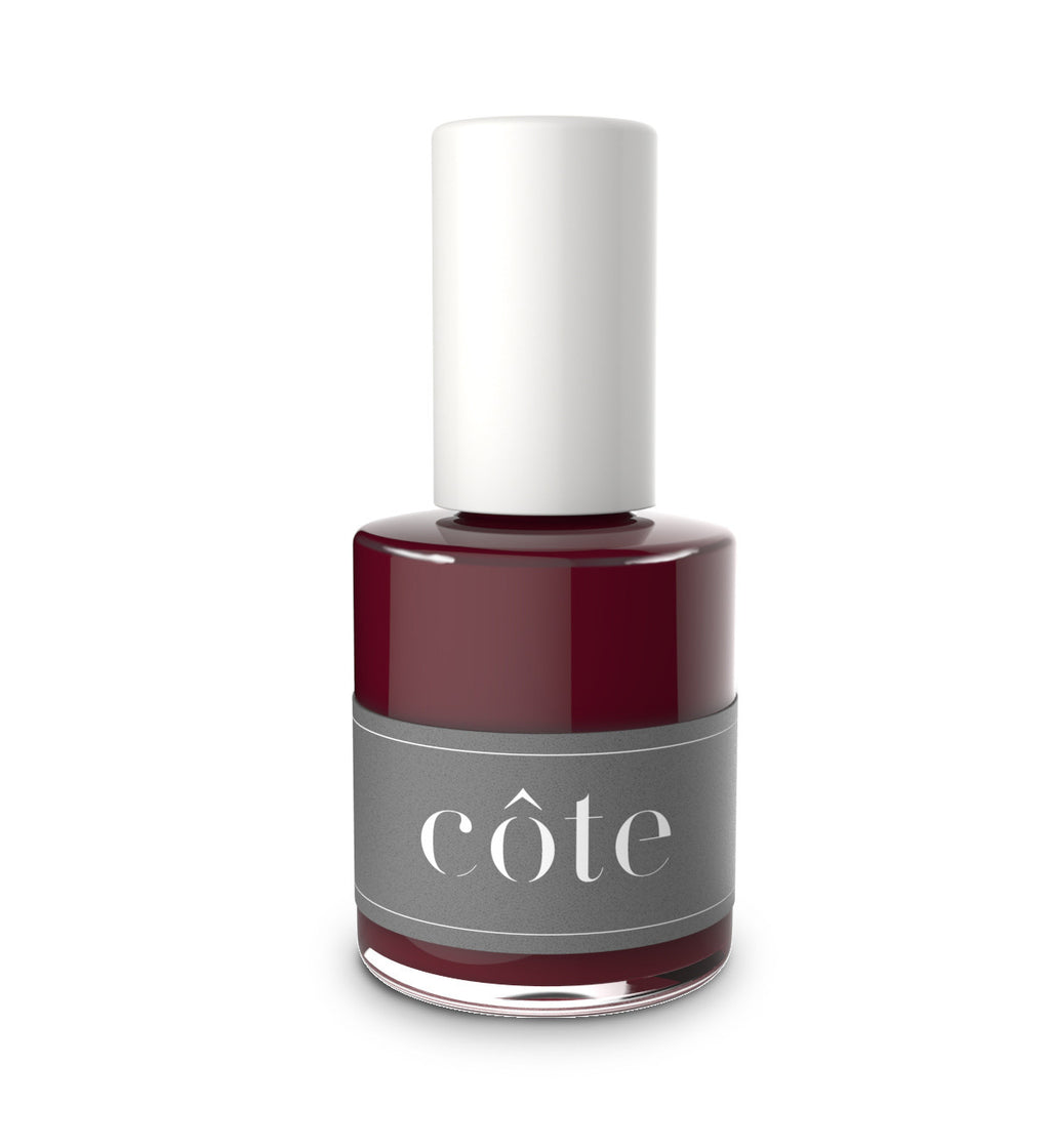 No. 38 red cream nail polish