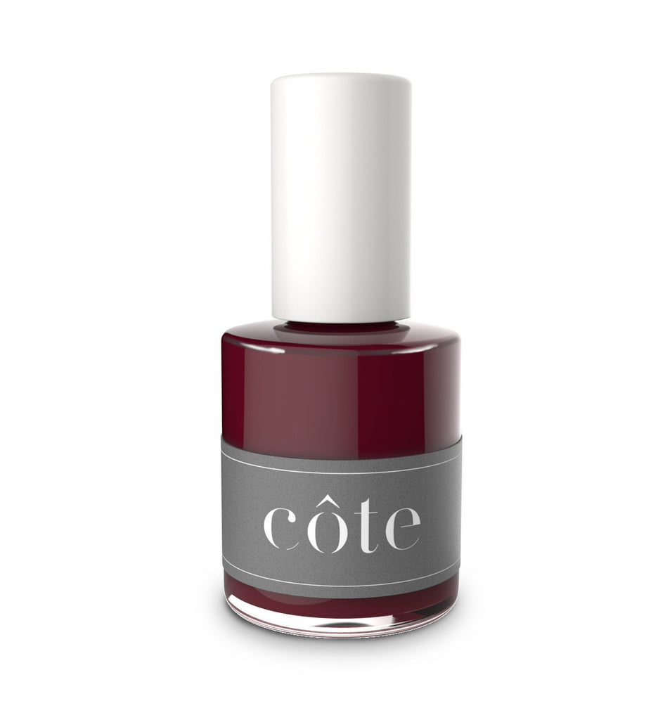 No. 38 Merlot Black Cherry Nail Polish - Vegan Nail Polish
